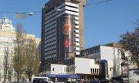 Брандмауэр №66734 в городе Киев (Киевская область), размещение наружной рекламы, IDMedia-аренда по самым низким ценам!