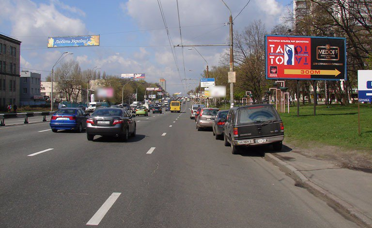 Билборд №7142 в городе Киев (Киевская область), размещение наружной рекламы, IDMedia-аренда по самым низким ценам!