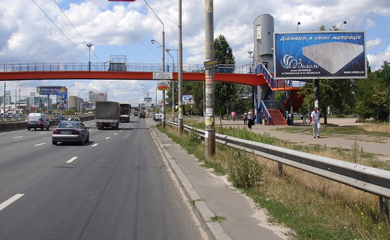 Билборд №7303 в городе Киев (Киевская область), размещение наружной рекламы, IDMedia-аренда по самым низким ценам!