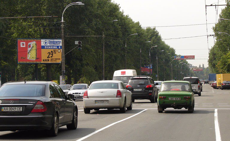 Билборд №7331 в городе Киев (Киевская область), размещение наружной рекламы, IDMedia-аренда по самым низким ценам!