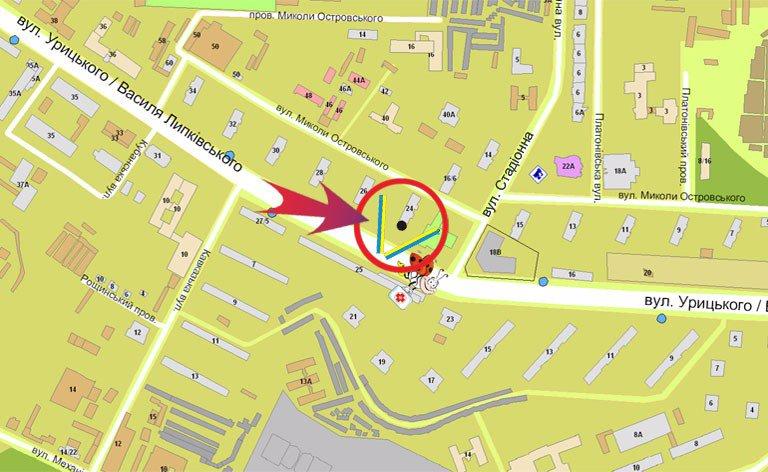 IDMedia Наружная реклама в городе Киев (Киевская область), Билборд в городе Киев №7348 схема