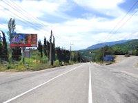 Билборд №74700 в городе Алушта (АР Крым), размещение наружной рекламы, IDMedia-аренда по самым низким ценам!