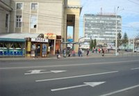 Остановка №75604 в городе Винница (Винницкая область), размещение наружной рекламы, IDMedia-аренда по самым низким ценам!
