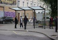 Остановка №75605 в городе Винница (Винницкая область), размещение наружной рекламы, IDMedia-аренда по самым низким ценам!