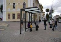 Остановка №75606 в городе Винница (Винницкая область), размещение наружной рекламы, IDMedia-аренда по самым низким ценам!