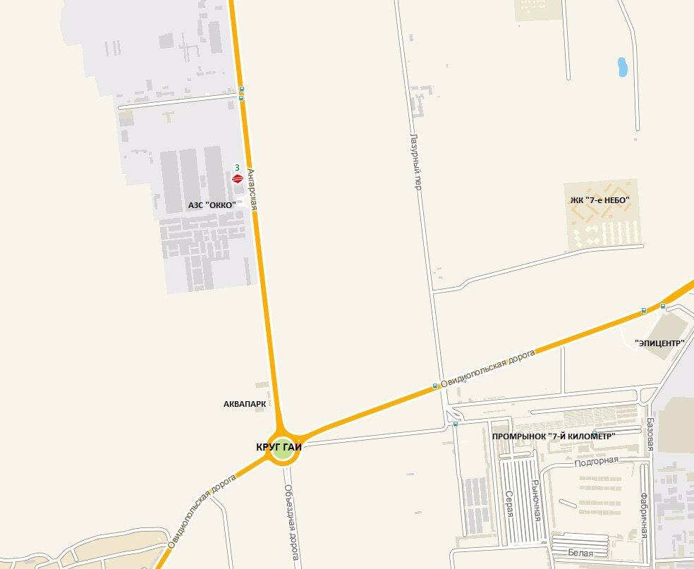 IDMedia Арендовать и разместить Билборд в городе Одесса трасса (Одесская область) №8073 схема