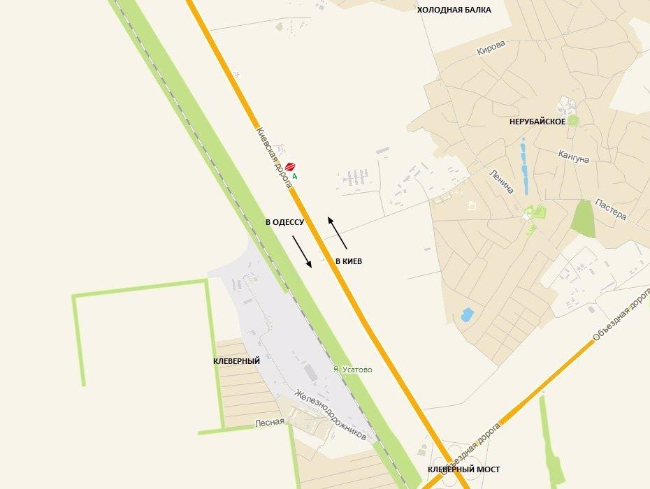 IDMedia Арендовать и разместить Билборд в городе Одесса трасса (Одесская область) №8075 схема