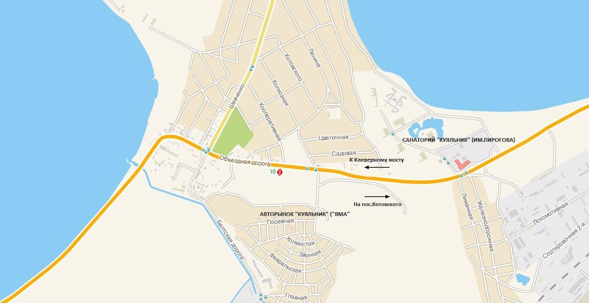 IDMedia Арендовать и разместить Билборд в городе Одесса трасса (Одесская область) №8080 схема