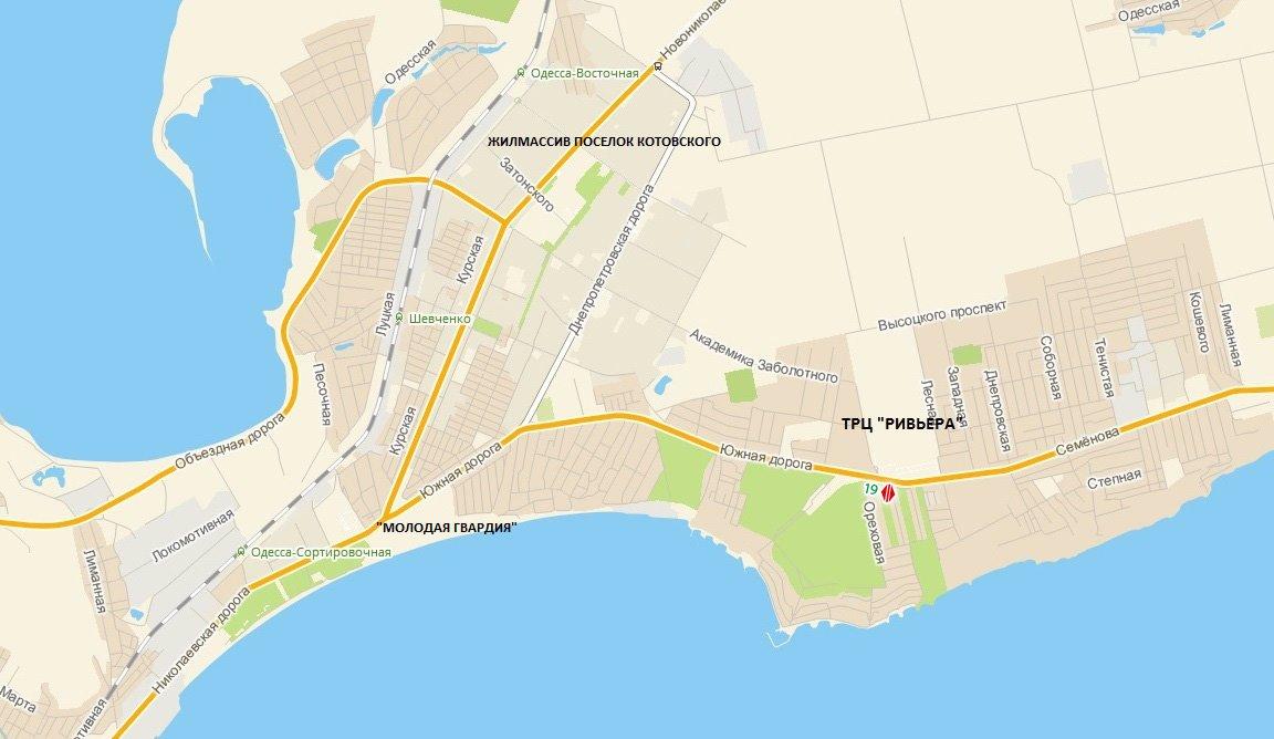 IDMedia Арендовать и разместить Билборд в городе Одесса трасса (Одесская область) №8088 схема