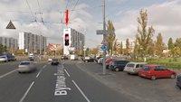 Брандмауэр №87367 в городе Киев (Киевская область), размещение наружной рекламы, IDMedia-аренда по самым низким ценам!