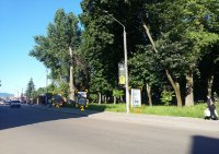 Ситилайт №91074 в городе Дрогобыч (Львовская область), размещение наружной рекламы, IDMedia-аренда по самым низким ценам!