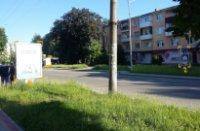 Ситилайт №91076 в городе Дрогобыч (Львовская область), размещение наружной рекламы, IDMedia-аренда по самым низким ценам!