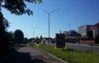 Ситилайт №91083 в городе Дрогобыч (Львовская область), размещение наружной рекламы, IDMedia-аренда по самым низким ценам!