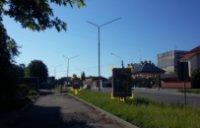 Ситилайт №91085 в городе Дрогобыч (Львовская область), размещение наружной рекламы, IDMedia-аренда по самым низким ценам!