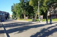 Ситилайт №91102 в городе Дрогобыч (Львовская область), размещение наружной рекламы, IDMedia-аренда по самым низким ценам!
