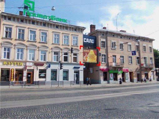 Бэклайт №91925 в городе Львов (Львовская область), размещение наружной рекламы, IDMedia-аренда по самым низким ценам!