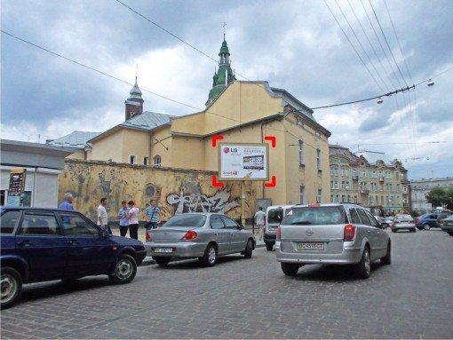 Бэклайт №91943 в городе Львов (Львовская область), размещение наружной рекламы, IDMedia-аренда по самым низким ценам!