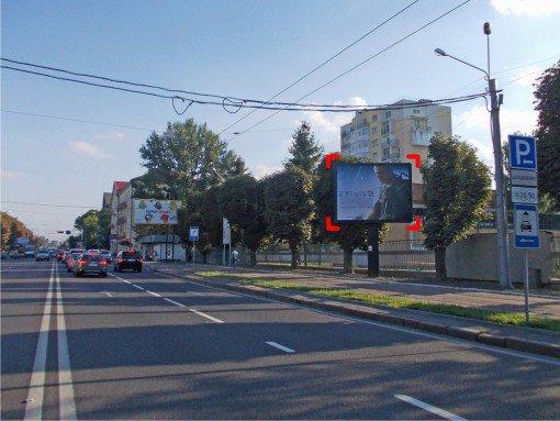 Бэклайт №91947 в городе Львов (Львовская область), размещение наружной рекламы, IDMedia-аренда по самым низким ценам!