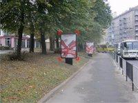 Ситилайт №92171 в городе Львов (Львовская область), размещение наружной рекламы, IDMedia-аренда по самым низким ценам!