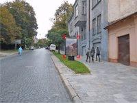 Ситилайт №92176 в городе Львов (Львовская область), размещение наружной рекламы, IDMedia-аренда по самым низким ценам!