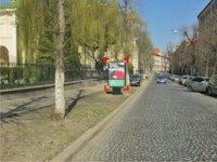 Ситилайт №92185 в городе Львов (Львовская область), размещение наружной рекламы, IDMedia-аренда по самым низким ценам!