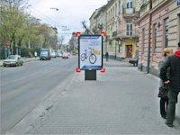 Ситилайт №92192 в городе Львов (Львовская область), размещение наружной рекламы, IDMedia-аренда по самым низким ценам!