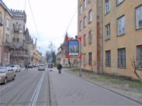 Ситилайт №92196 в городе Львов (Львовская область), размещение наружной рекламы, IDMedia-аренда по самым низким ценам!