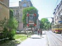 Ситилайт №92199 в городе Львов (Львовская область), размещение наружной рекламы, IDMedia-аренда по самым низким ценам!