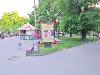 Ситилайт №92232 в городе Ивано-Франковск (Ивано-Франковская область), размещение наружной рекламы, IDMedia-аренда по самым низким ценам!