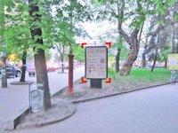 Ситилайт №92234 в городе Ивано-Франковск (Ивано-Франковская область), размещение наружной рекламы, IDMedia-аренда по самым низким ценам!