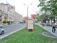Ситилайт №92236 в городе Ивано-Франковск (Ивано-Франковская область), размещение наружной рекламы, IDMedia-аренда по самым низким ценам!