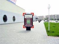 Ситилайт №92241 в городе Ивано-Франковск (Ивано-Франковская область), размещение наружной рекламы, IDMedia-аренда по самым низким ценам!