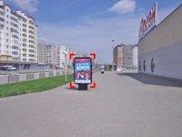 Ситилайт №92242 в городе Ивано-Франковск (Ивано-Франковская область), размещение наружной рекламы, IDMedia-аренда по самым низким ценам!