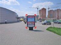 Ситилайт №92243 в городе Ивано-Франковск (Ивано-Франковская область), размещение наружной рекламы, IDMedia-аренда по самым низким ценам!