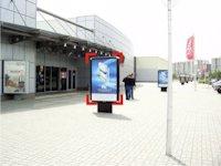 Ситилайт №92247 в городе Ивано-Франковск (Ивано-Франковская область), размещение наружной рекламы, IDMedia-аренда по самым низким ценам!