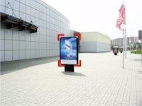 Ситилайт №92249 в городе Ивано-Франковск (Ивано-Франковская область), размещение наружной рекламы, IDMedia-аренда по самым низким ценам!