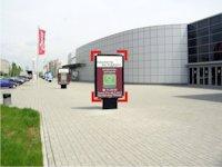 Ситилайт №92252 в городе Ивано-Франковск (Ивано-Франковская область), размещение наружной рекламы, IDMedia-аренда по самым низким ценам!