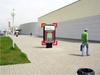 Ситилайт №92254 в городе Ивано-Франковск (Ивано-Франковская область), размещение наружной рекламы, IDMedia-аренда по самым низким ценам!