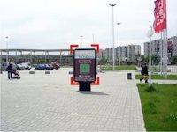 Ситилайт №92255 в городе Ивано-Франковск (Ивано-Франковская область), размещение наружной рекламы, IDMedia-аренда по самым низким ценам!