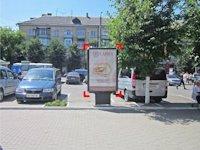 Ситилайт №92259 в городе Ивано-Франковск (Ивано-Франковская область), размещение наружной рекламы, IDMedia-аренда по самым низким ценам!
