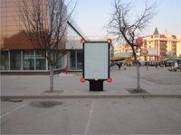 Ситилайт №92260 в городе Ивано-Франковск (Ивано-Франковская область), размещение наружной рекламы, IDMedia-аренда по самым низким ценам!