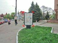 Ситилайт №92264 в городе Ивано-Франковск (Ивано-Франковская область), размещение наружной рекламы, IDMedia-аренда по самым низким ценам!