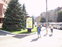Ситилайт №92267 в городе Ивано-Франковск (Ивано-Франковская область), размещение наружной рекламы, IDMedia-аренда по самым низким ценам!