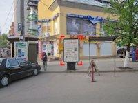 Ситилайт №92268 в городе Ивано-Франковск (Ивано-Франковская область), размещение наружной рекламы, IDMedia-аренда по самым низким ценам!