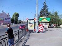 Ситилайт №92272 в городе Ровно (Ровенская область), размещение наружной рекламы, IDMedia-аренда по самым низким ценам!