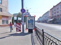 Ситилайт №92273 в городе Ровно (Ровенская область), размещение наружной рекламы, IDMedia-аренда по самым низким ценам!