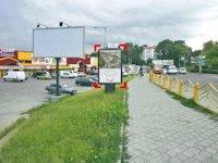 Ситилайт №92287 в городе Луцк (Волынская область), размещение наружной рекламы, IDMedia-аренда по самым низким ценам!