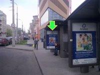Остановка №94298 в городе Днепр (Днепропетровская область), размещение наружной рекламы, IDMedia-аренда по самым низким ценам!