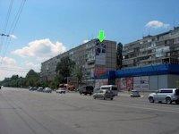 Брандмауэр №94309 в городе Днепр (Днепропетровская область), размещение наружной рекламы, IDMedia-аренда по самым низким ценам!