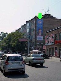 Брандмауэр №94311 в городе Днепр (Днепропетровская область), размещение наружной рекламы, IDMedia-аренда по самым низким ценам!